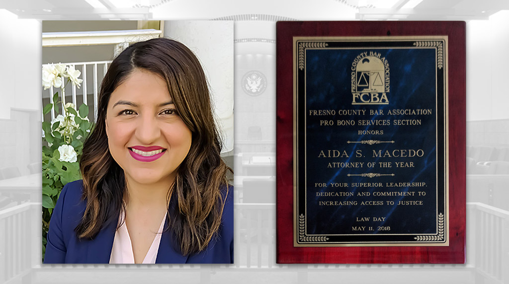 MSE Attorney Aida S. Macedo Named Pro Bono Attorney Of The Year