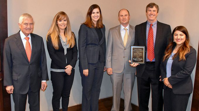 MSE Attorney Douglas L. Gordon Receives Pettitt Mentor Award